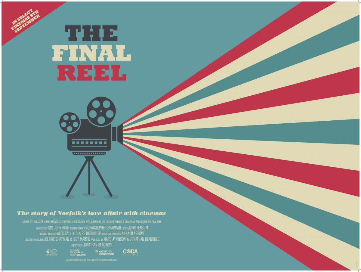 'The Final Reel' promotional poster.