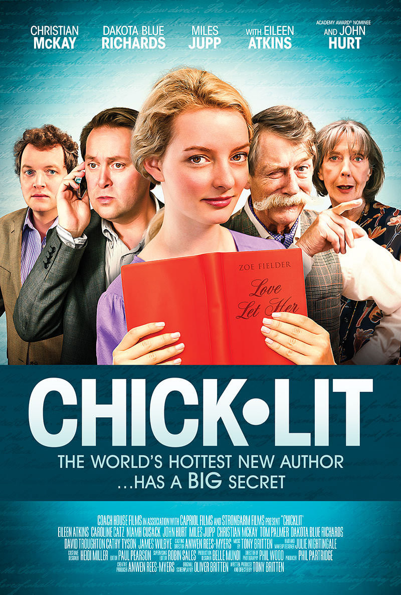Promotional poster for 'Chick Lit', directed by Tony Britten.